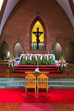 Church for wedding infront of Jesus Stock Photo