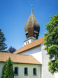 Church in Wessling Bavaria Germany Royalty Free Stock Photo