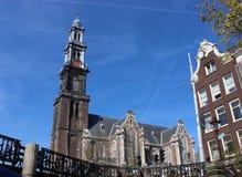 Church Westerkerk in Amsterdam Stock Photography