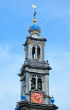 Church Westerkerk in Amsterdam Royalty Free Stock Photo