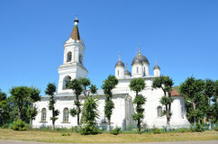 The Church of the White Trinity in Tver, 16th century Stock Photography