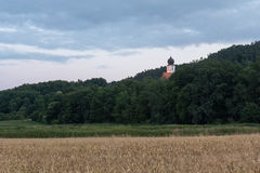 Church of Wiefelsdorf Royalty Free Stock Photography