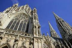 Church in Wien. Votivkirche. Detail Royalty Free Stock Photo