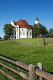 Church wieskirche Royalty Free Stock Photography