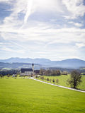 Church Wilparting Bavaria Royalty Free Stock Image