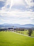 Church Wilparting Bavaria Royalty Free Stock Image