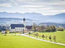 Church Wilparting Bavaria Stock Images