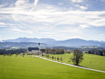 Church Wilparting Bavaria Stock Photo