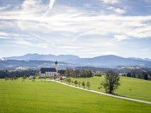 Church Wilparting Bavaria Stock Photo
