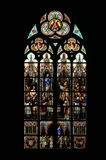 Church window. Colorful window in a catholic church Royalty Free Stock Photography