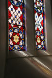 Church window. A stained glass window in a church Stock Images