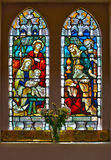 Church Window. HDR stained glass  church window Royalty Free Stock Photos