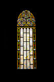 Church Window. Saint antonia church in the istanbul turkey Stock Photography