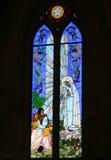 Church window. Window of the church of nuestra señora de fatima in zacatecas, mexico Stock Images