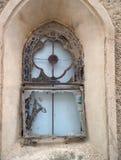 Church window. Broken church window Stock Images