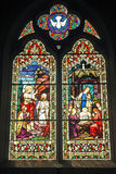 Church Window. The cost to make this type of window today would cost an arm and a leg Stock Photography