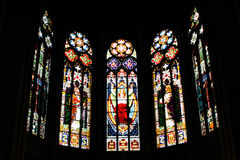 Church window. A church window from gedächtniskirche speyer Royalty Free Stock Photos