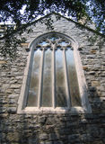 Church window. An ornately decorated church window stock images