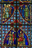 Church window. Colorful Church Window royalty free stock photos