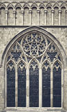 Church window Canterbury Stock Photo