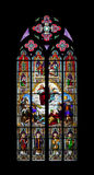 Church window cologne. An image of a colorful church window in Cologne Royalty Free Stock Images