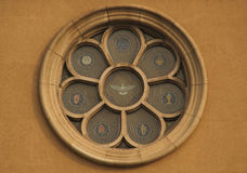 Church Window. Color glass window in church Royalty Free Stock Photo