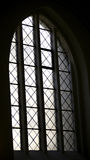 Church window from inside. Royalty Free Stock Images