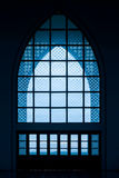 Church window or mosques windows Royalty Free Stock Photography