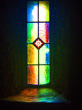 Church Window, Mount Melleray Abbey, Waterford, Ireland Stock Photography