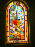 Church Stained Glass Window Royalty Free Stock Photo