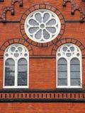 Church windows Stock Photography