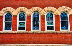 Church Windows 1 Stock Image
