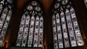 Church windows Stock Photo