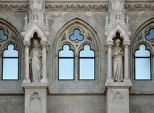Church windows Stock Photography