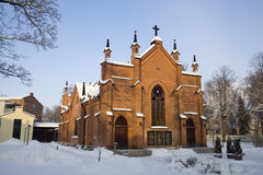 Church In Winter Stock Photos