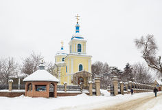 Church at winter Royalty Free Stock Images