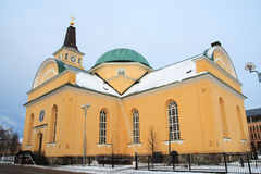 Church in winter Royalty Free Stock Photo