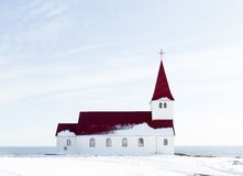 Church in winter Royalty Free Stock Photography