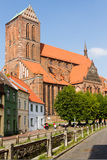 Church in Wismar in Germany Stock Photos