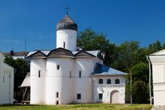 Church of Wives-mironosits, Great Novgorod, Russia Stock Photos