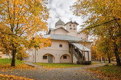 Church of Wives-mironosits, Veliky Novgorod, Russia Royalty Free Stock Photos