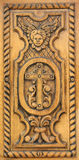 Church wood carve royalty free stock images