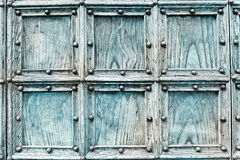 Church wooden door Stock Image