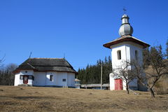 Church. This is the wooden church, St. Nicholas'' Chiriţeni village, Hangu, Neamt County Royalty Free Stock Image
