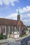 Church in Wroclaw Stock Photography
