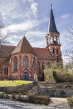 Church Wustrow Germany Stock Photography