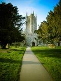 Church& x27; s ścieżka Fotografia Royalty Free