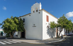 Church in Yaiza on Lanzarote Royalty Free Stock Photos