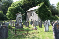 Church Yard Royalty Free Stock Image