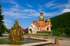 Church, Yaremche, Ukraine Stock Photography